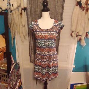 JOE BOXER multi color multi design summer dress